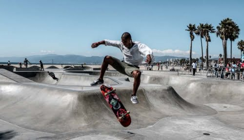 Skater a Venice Beach