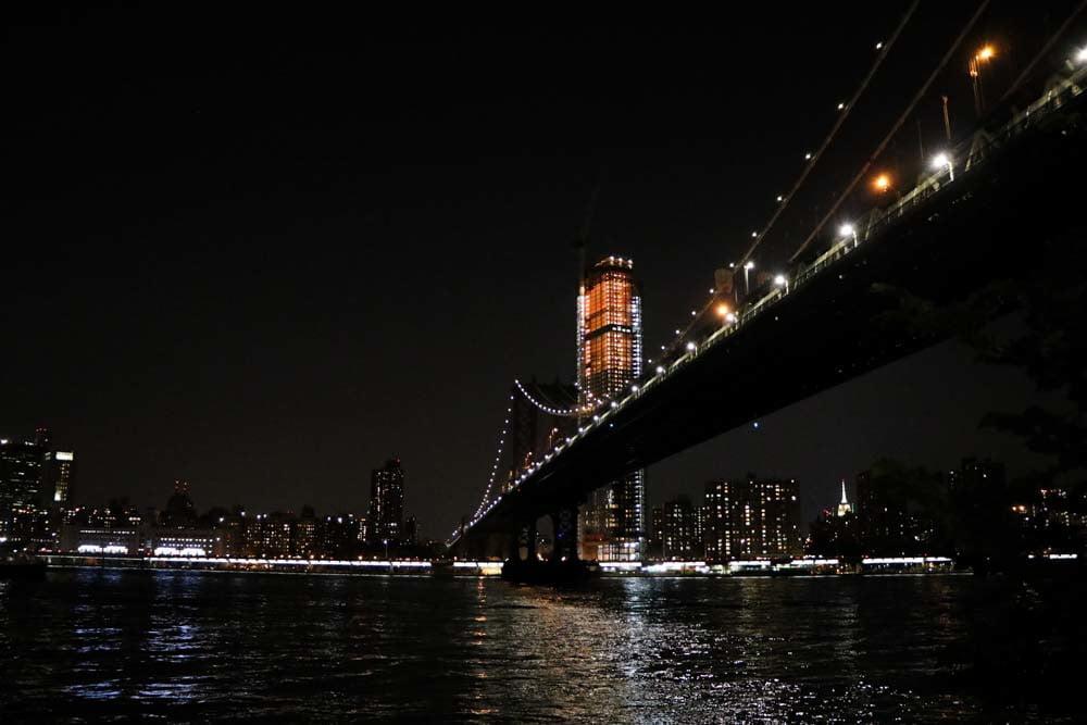 Skyline di notte