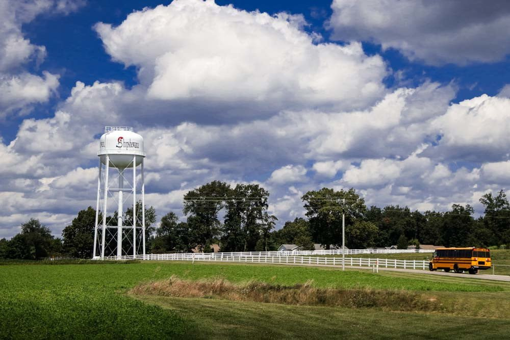 Shipshewana la città Amish
