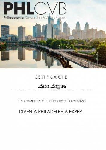 Certificato Philadelphia Expert