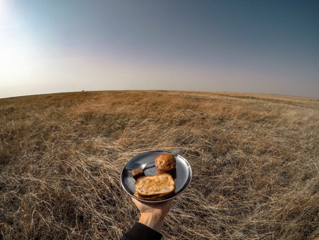 pranzo nella savana