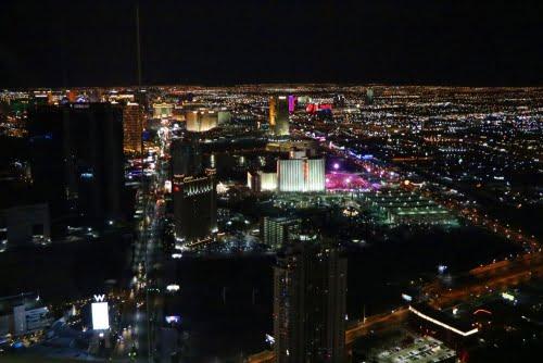 Las Vegas dall'alto